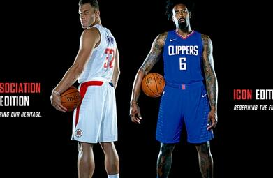 2017 LA Clippers jerseys - nba