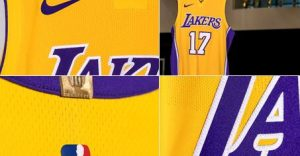 2017 Los Angeles Lakers jerseys 300x156 -