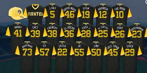 2017 mlb pirates jerseys sale - mlb