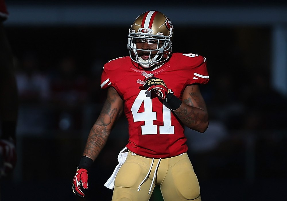 bethea stripes on 49ers nfl jerseys - 49ers
