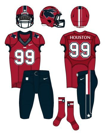 texans 3rd jersey red socks