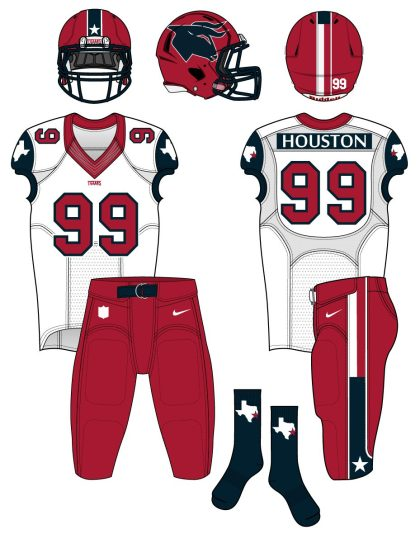 texans road uniform